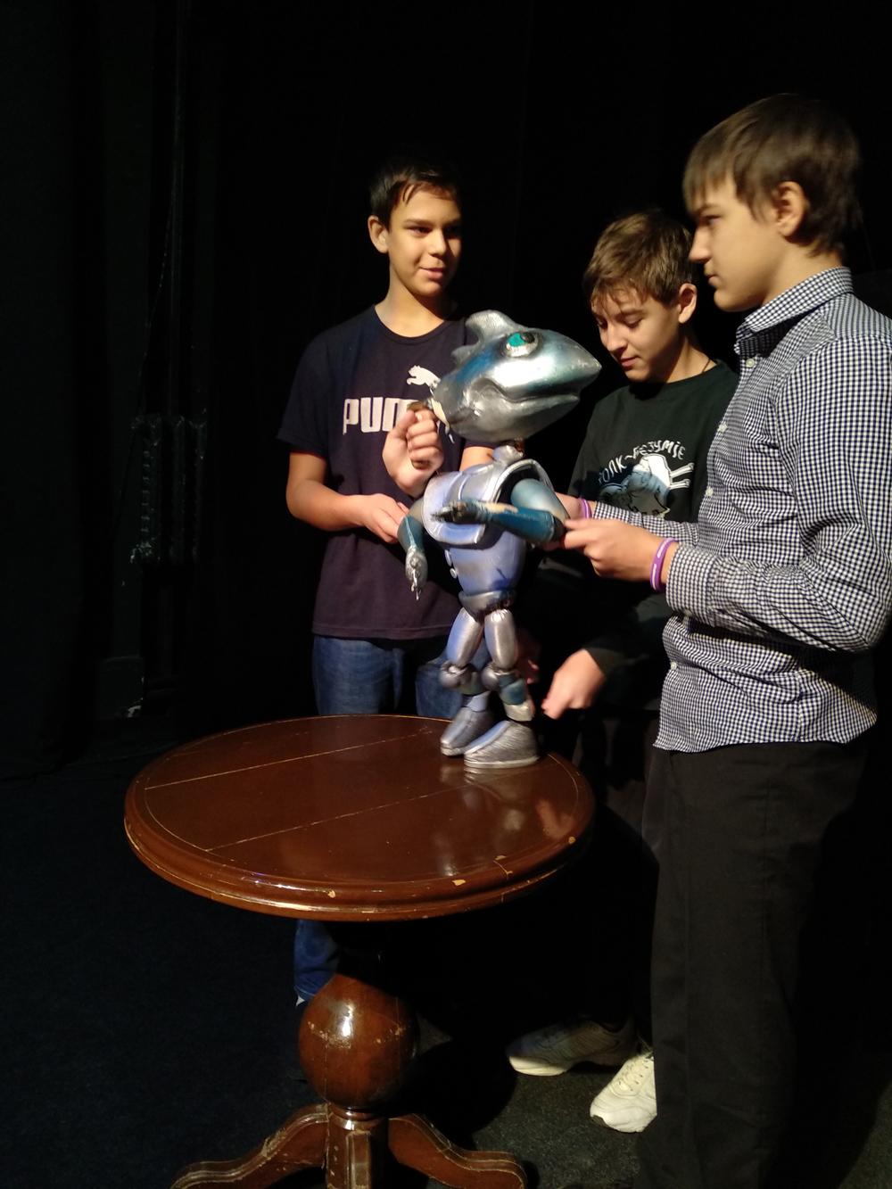 Хочу стать актёром Театра кукол!