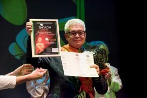 Анатолий Александров, директор московского детского камерного театра кукол, лауреата 2016 года