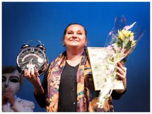Елена Бухарина, директор Вологодского театра кукол, лауреата фестиваля 2012 года